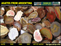 Agates from argentina